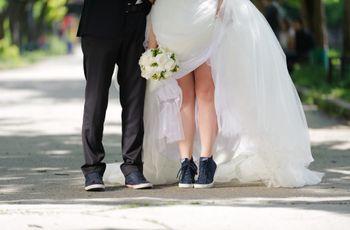 Segundo par de zapatos para la novia: ¡ponete cómoda!