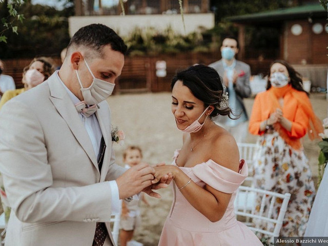 Conozcan cómo son los casamientos en la nueva normalidad de otros países