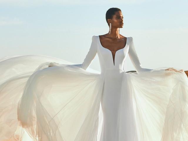 Vestidos de novia 2022: 100 modelos y lo mejor de las tendencias que se vienen