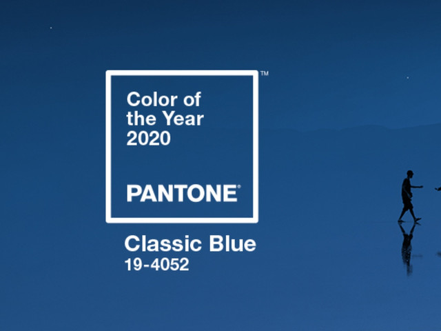 Pantone Color Institute anunció el color del año 2020: Classic Blue