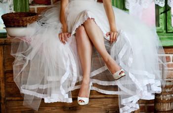 6 trucos para tonificar tus piernas antes del casamiento