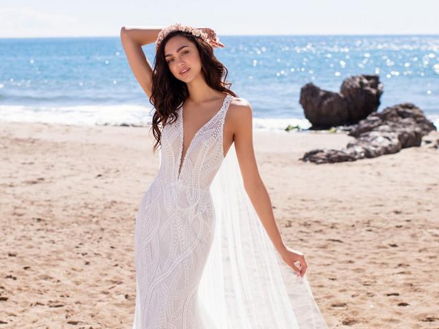 20 vestidos de novia para casamientos en verano, frescura para tu look