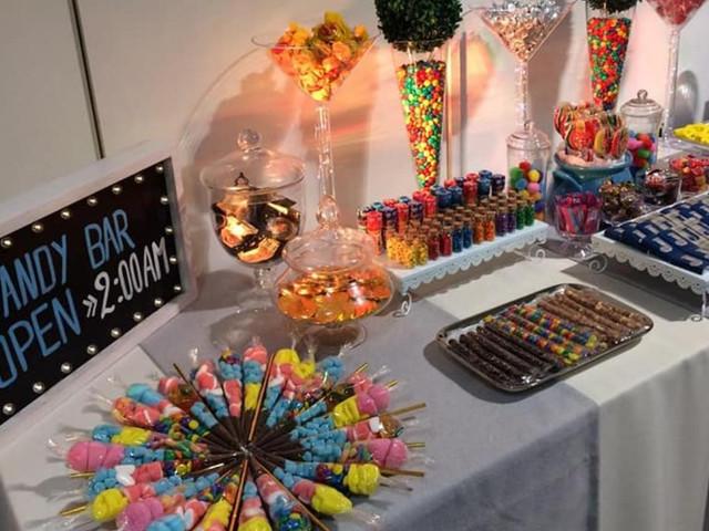 ¿Cómo armar un candy bar para el casamiento?