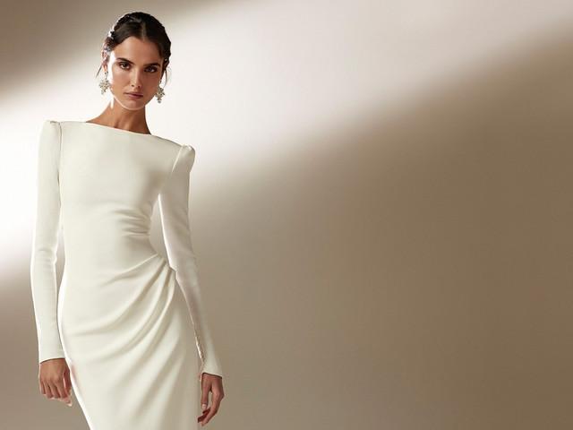 5 consejos para usar un vestido de novia con mangas largas