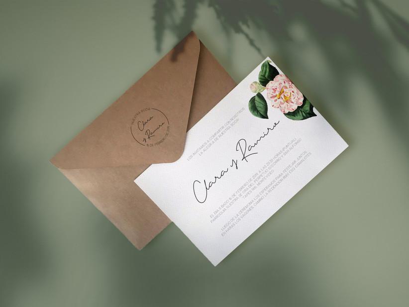 ¿Qué escribir en los sobres de las tarjetas de casamiento?