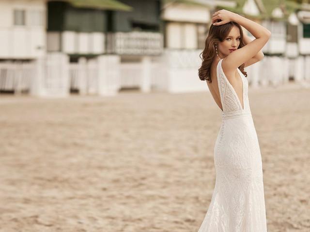50 vestidos de novia para casamientos en verano