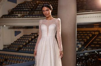 25 vestidos de novia para casamientos en invierno