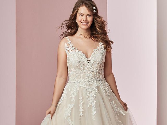 Vestidos de novia para gorditas: consejos para lucir tus curvas con estilo
