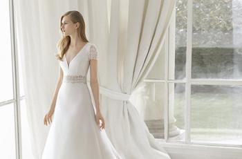 25 vestidos de novia corte en A: versatilidad y estilo para tu look