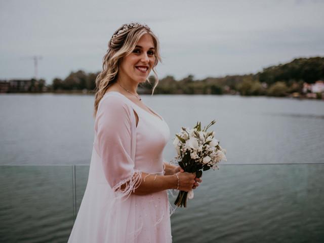 ¿Cómo elegir el tamaño del ramo de novia?