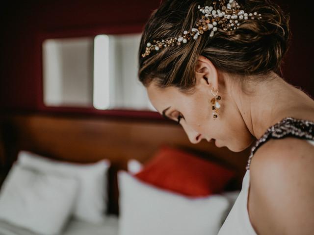 5 consejos para elegir los aros de novia y conseguir un look con mucho estilo
