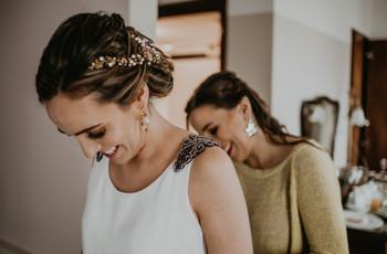 ¿Qué accesorios usar para un look de novia vintage?