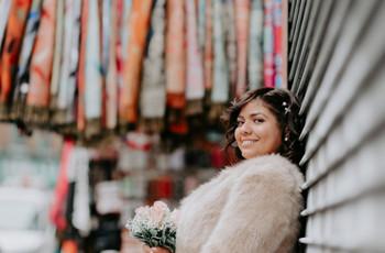 Peinados de novia de invierno: 7 ideas