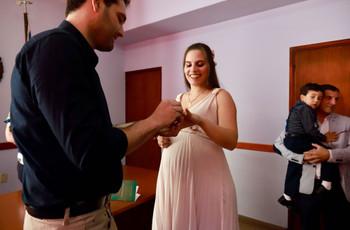 Novia y futura mamá: ¿cómo organizar el casamiento?