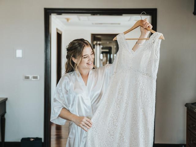 Las 5 dudas más comunes sobre el vestido de novia