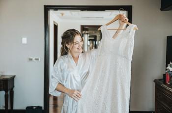 6 consejos básicos si tenés que comprar tu vestido de novia en poco tiempo
