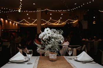 5 ideas para ahorrar en los centros de mesa del casamiento