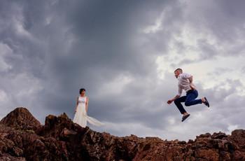 Fotos no tradicionales para el álbum de casamiento: 7 ideas