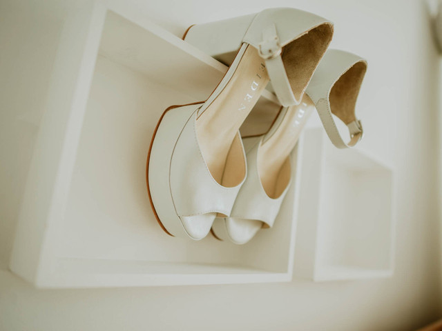 5 consejos para sentirte cómoda con tus zapatos de novia