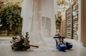 6 consejos para usar accesorios de color para tu look de novia