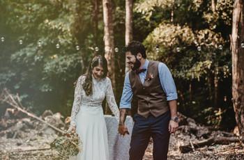 5 consejos para conseguir fotos espontáneas en su casamiento