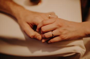 ¿Cómo elegir las alianzas de casamiento según la forma de la mano?