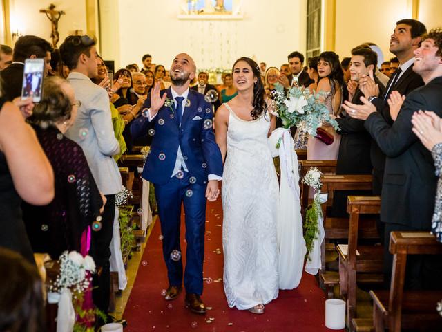 ¿Cómo es el protocolo de entrada y salida del casamiento religioso?