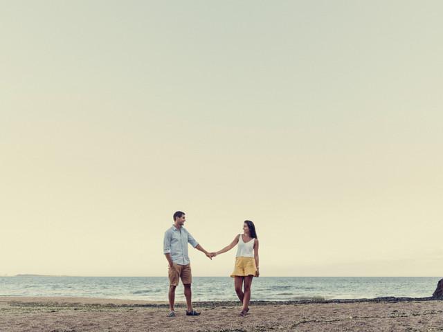 7 ideas para una sesión preboda en las playas de Uruguay