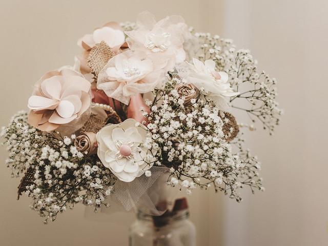 Ramos de novia artificiales, ¡animate con un complemento original!