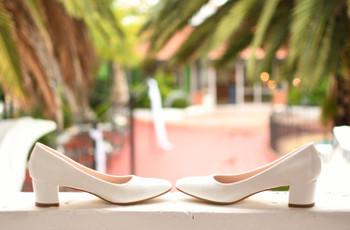 Zapatos de novia bajos: 5 consejos para un look cómodo y estiloso