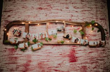 Fotos como souvenir de casamiento: 5 ideas originales