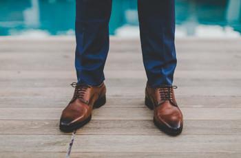 Los zapatos del novio: 6 estilos para diferentes tipos de casamiento
