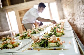 ¿Menú tradicional o lunch para el casamiento?