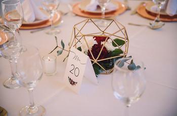 Centros de mesa sencillos: 6 ideas para decorar su casamiento