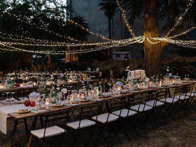 5 ideas para iluminar casamientos al aire libre