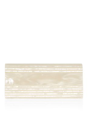 EVELINE RESIN BRIDAL POUCH BAG , Monsoon