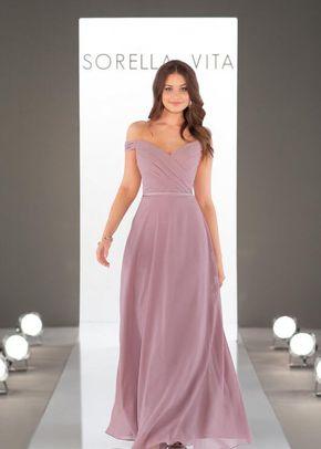9150 Cute and Classic Bridesmaid Dress by Sorella Vita, Sorella Vita