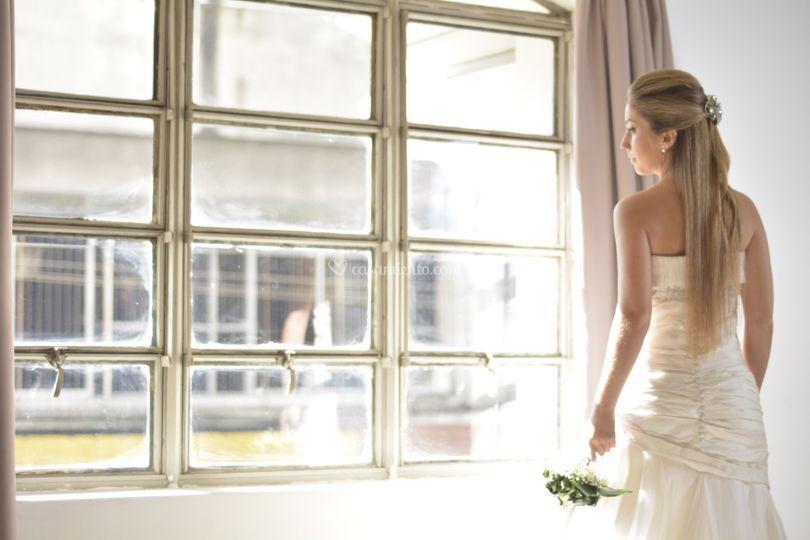 Increíble vestido de novia