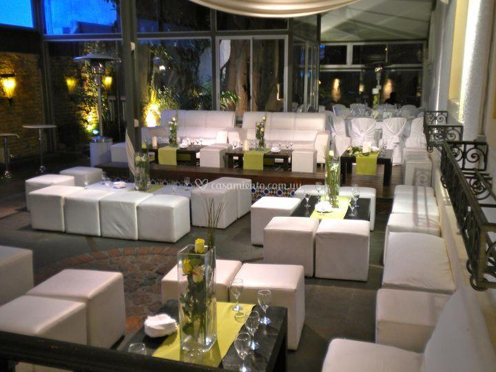 El patio for Salones para casamientos