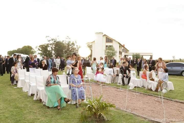Ceremonia en entrada