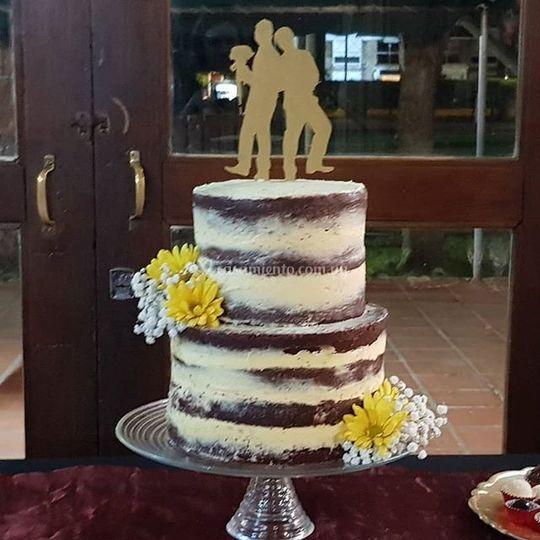 Torta de bodas Red Velvet