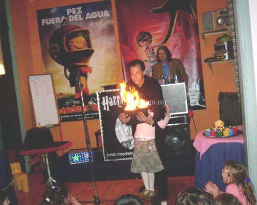 Magia con niños