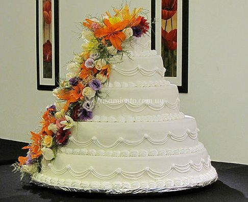 Hermosa torta de 25 kg.