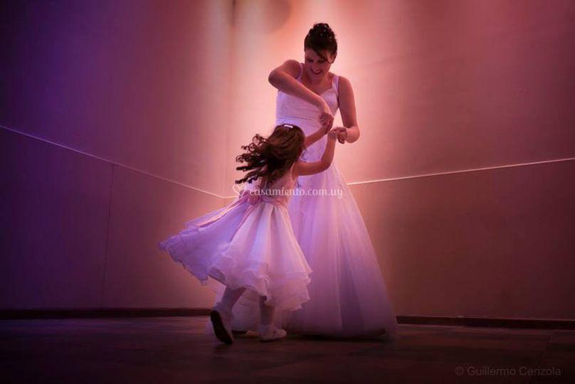 Bailando como niños