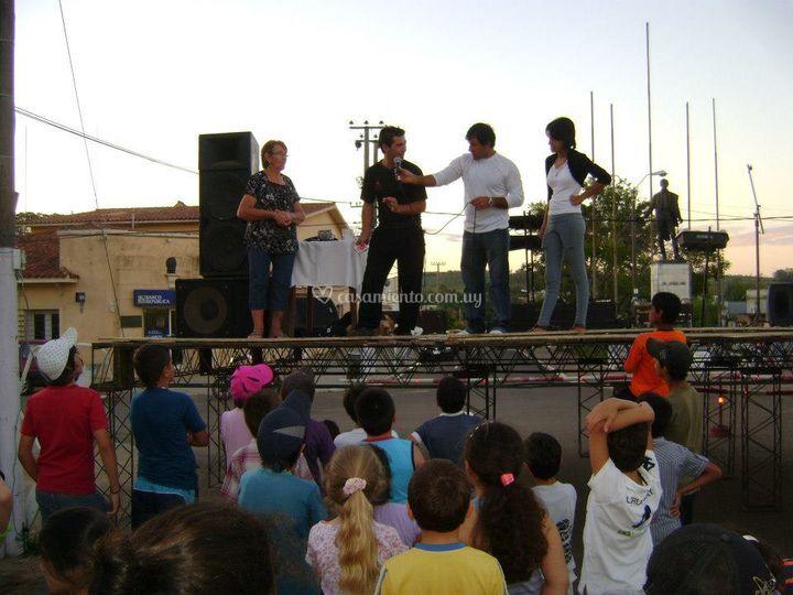 Show en escenario