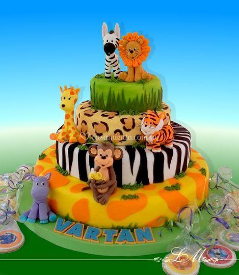 Tortas decoradas lorena meinero for Mobiliario infantil montevideo