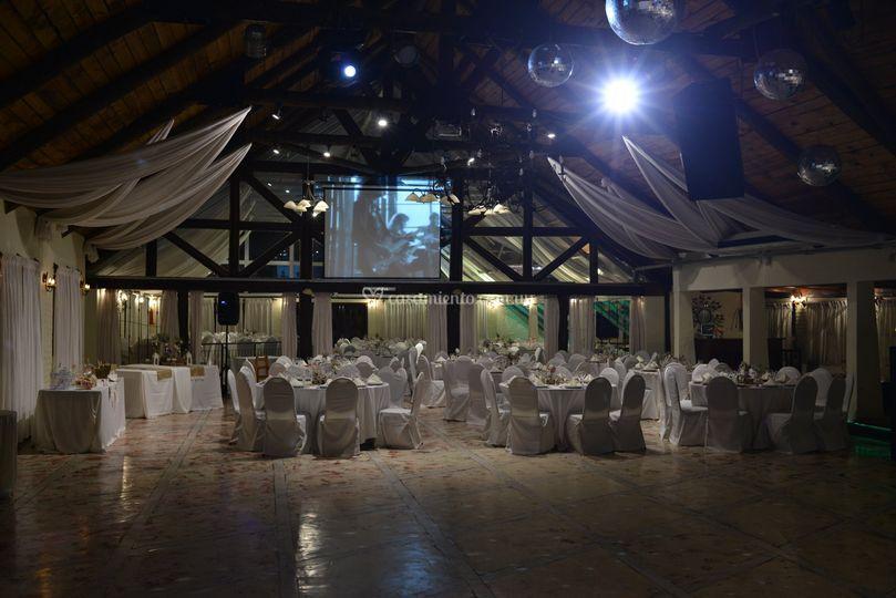 Interior rancho grande