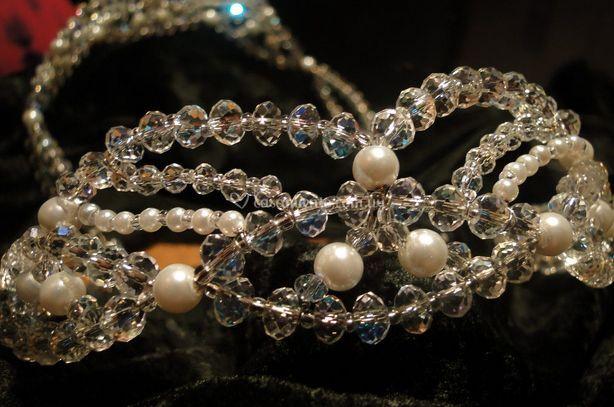 Perlas y cristales