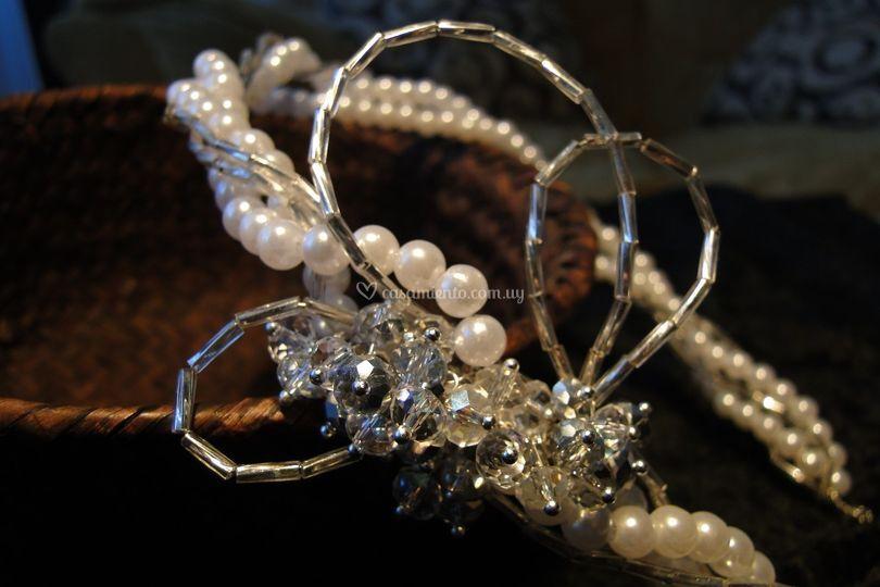 Cristal, perla, canutillo