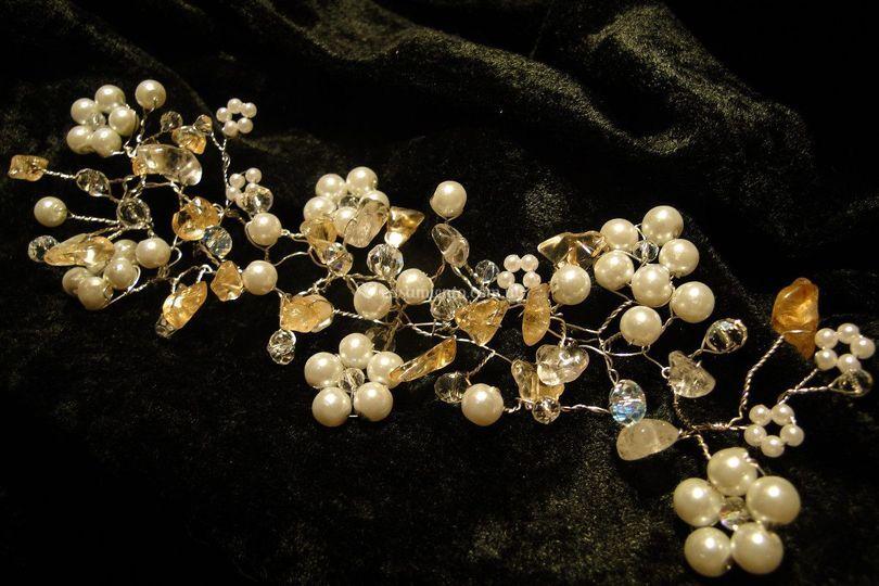Perlas, cristales